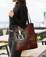 Bulldog Lady 5 All-over Tote aos-all-over-tote-lifestyle-front-04