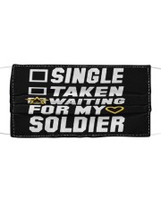 Soldier Cloth face mask front