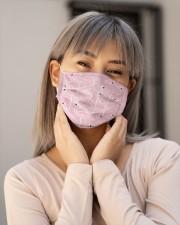Flamingo Face Mask 20 Cloth face mask aos-face-mask-lifestyle-17