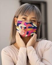 Flamingo Face Mask 16 Cloth face mask aos-face-mask-lifestyle-17