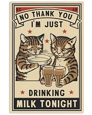 No Thank You Drinking 11x17 Poster front