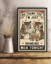 No Thank You Drinking 11x17 Poster lifestyle-poster-3