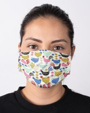 Super Chicken Face Mask 9 Cloth face mask aos-face-mask-lifestyle-01