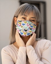Super Chicken Face Mask 9 Cloth face mask aos-face-mask-lifestyle-17