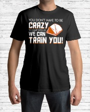 Camp With Us We Can Train You Co Premium Fit Mens Tee lifestyle-mens-crewneck-front-1