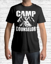 Camp Counselor Funny Camping Leader Volu Premium Fit Mens Tee lifestyle-mens-crewneck-front-1