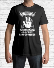 Camp Counselor shirt Premium Fit Mens Tee lifestyle-mens-crewneck-front-1