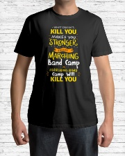 What Doesn't Kill You Makes You Stronger Marc Premium Fit Mens Tee lifestyle-mens-crewneck-front-1