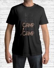 What Happens At Camp Stays At C Premium Fit Mens Tee lifestyle-mens-crewneck-front-1