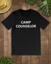 Camp Counselor T-Shirt Job Summer Cam Premium Fit Mens Tee lifestyle-mens-crewneck-front-18