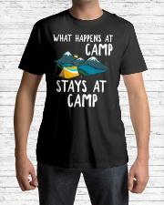 Camper Gift T Shirt - What Happens Premium Fit Mens Tee lifestyle-mens-crewneck-front-1