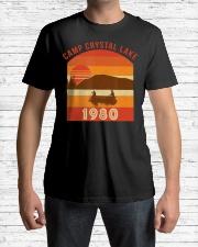 Camp Crystal Lake 1980 Vintage Joke G Premium Fit Mens Tee lifestyle-mens-crewneck-front-1