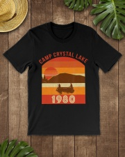 Camp Crystal Lake 1980 Vintage Joke G Premium Fit Mens Tee lifestyle-mens-crewneck-front-18