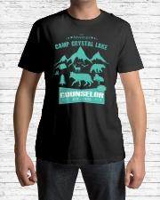Camp Camping Crystal Lake Counselor Vintag Premium Fit Mens Tee lifestyle-mens-crewneck-front-1
