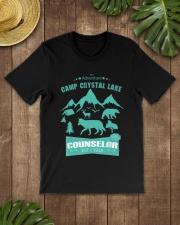 Camp Camping Crystal Lake Counselor Vintag Premium Fit Mens Tee lifestyle-mens-crewneck-front-18
