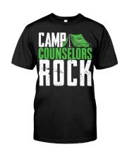 Camp Counselor Shirt  Camp C Premium Fit Mens Tee front
