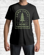 Camp Today Work Tomorrow - Premium Fit Mens Tee lifestyle-mens-crewneck-front-1
