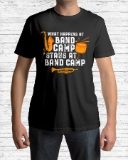 What Happens At Band Camp Stays At Camp Funny Premium Fit Mens Tee lifestyle-mens-crewneck-front-1