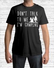 Camper Don't Talk To Me I'm Camp Premium Fit Mens Tee lifestyle-mens-crewneck-front-1