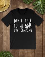 Camper Don't Talk To Me I'm Camp Premium Fit Mens Tee lifestyle-mens-crewneck-front-18