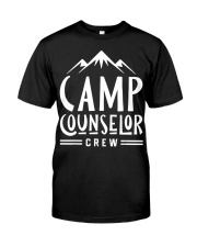 Camp Counselor Crew T-Shirt For  Premium Fit Mens Tee front