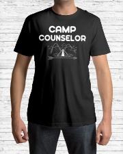 Camp Counselor Camping Adventu Premium Fit Mens Tee lifestyle-mens-crewneck-front-1