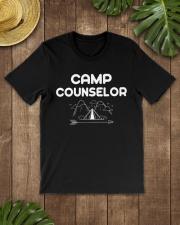 Camp Counselor Camping Adventu Premium Fit Mens Tee lifestyle-mens-crewneck-front-18