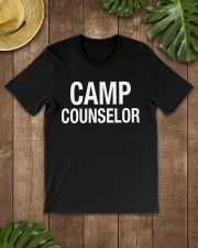 Camp Counselor Summer Camping Le Premium Fit Mens Tee lifestyle-mens-crewneck-front-18