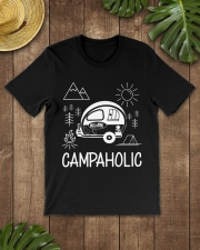 Campaholic Camping Festival Campers Camp Gift Premium Fit Mens Tee lifestyle-mens-crewneck-front-18