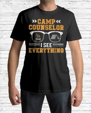 Camp Counselor I See Everything Camp Premium Fit Mens Tee lifestyle-mens-crewneck-front-1
