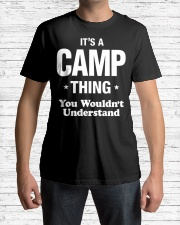 Camp Thing Name Family Premium Fit Mens Tee lifestyle-mens-crewneck-front-1