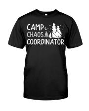 Camp Chaos Coordinator Summer Dire Premium Fit Mens Tee front