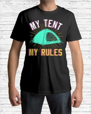 Camper Camp Tent Premium Fit Mens Tee lifestyle-mens-crewneck-front-1