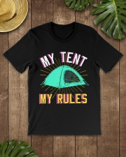 Camper Camp Tent Premium Fit Mens Tee lifestyle-mens-crewneck-front-18