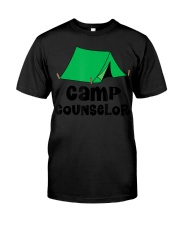 Camp Counselor Sum Premium Fit Mens Tee front