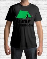 Camp Counselor Sum Premium Fit Mens Tee lifestyle-mens-crewneck-front-1