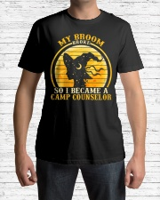 Womens Camp Counselor Halloween Costume For Tea Premium Fit Mens Tee lifestyle-mens-crewneck-front-1