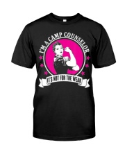 Camp Counselor T-Shirt Premium Fit Mens Tee front