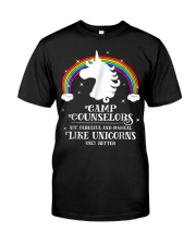 Camp Counselors are Magical Like Unic Premium Fit Mens Tee front