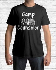 Camp Counselor Woodsy Cabi Premium Fit Mens Tee lifestyle-mens-crewneck-front-1