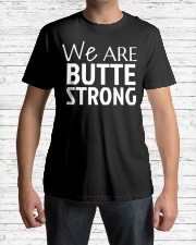 We are Butte Strong Northern Cal S Premium Fit Mens Tee lifestyle-mens-crewneck-front-1