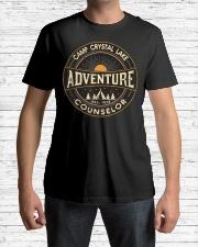 Camp crystal lake V Premium Fit Mens Tee lifestyle-mens-crewneck-front-1