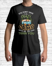 You Don't Have To Be Crazy To Camp V Premium Fit Mens Tee lifestyle-mens-crewneck-front-1