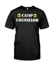 Camp Counselor T Shirt for Summer Premium Fit Mens Tee front