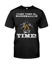 Camp Time is Marshmallow Time tshi Premium Fit Mens Tee front