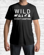 Wild About Camping Hiking Forest  Premium Fit Mens Tee lifestyle-mens-crewneck-front-1