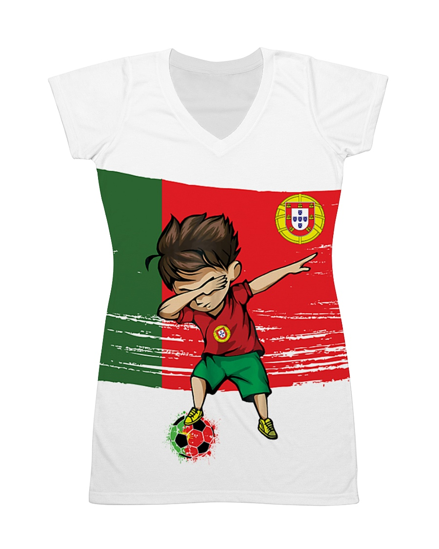 Portugal All-over Dress