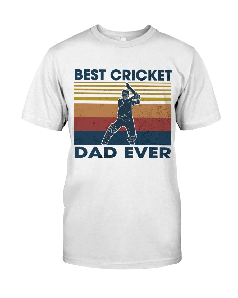 Cricket Dad Classic T-Shirt