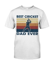 Cricket Dad Classic T-Shirt front