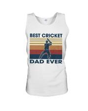 Cricket Dad Unisex Tank thumbnail